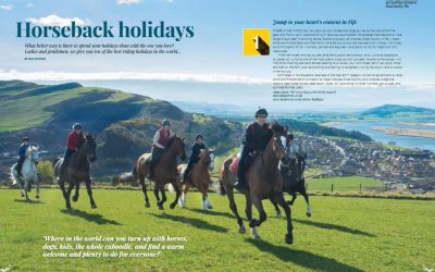 Rated No 1 for Horseback Holidays in EQy Magazine 2017