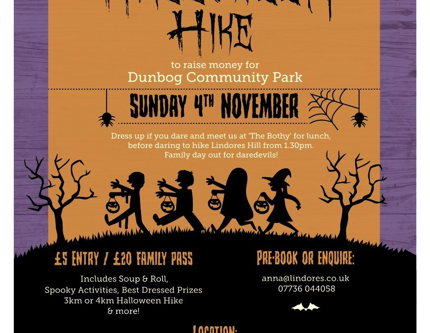 Halloween Hike – 4th Nov 2018